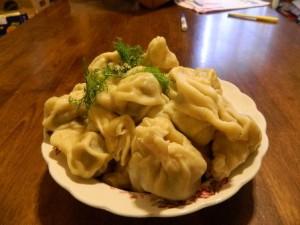 Siberian Sausage Dumplings
